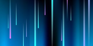glowing lines E διανυσματική απεικόνιση