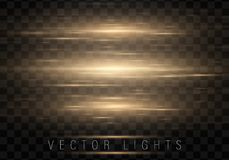 Abstract glow light lines royalty free illustration