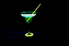Glowing Margarita Stock Photography