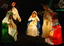 Glowing Nativity Royalty Free Stock Photos