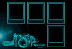 Glowing Photo Borders Royalty Free Stock Image