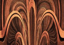Glowing plywood texture. Gradient textured paper. Contrast shaded paper. stock illustration