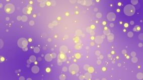 Glowing purple yellow bokeh background