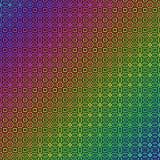 Glowing rainbow pattern Stock Image