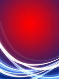 Glowing Rays Background. With space for text Royalty Free Stock Photos