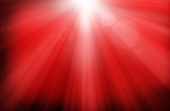 Glowing Red Christmas Background Stock Photography
