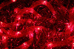 Glowing red cord Stock Photos