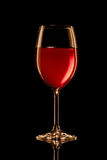 Glowing red wine Royalty Free Stock Photography