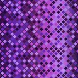 Glowing rounded diamond pattern. Seamless vector background Stock Photos