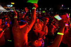 Glowing run Stock Photography