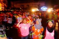 Glowing run Stock Photo