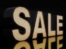 Glowing SALE stock illustration