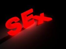 Glowing sex Stock Photo