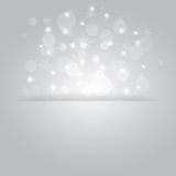Glowing shiny christmas background with snowflakes Royalty Free Stock Photography