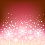 Glowing shiny christmas background. Vector eps10. Abstract background with bokeh. Bright background with snowflake . Christmas design . Vector Illustration Royalty Free Illustration