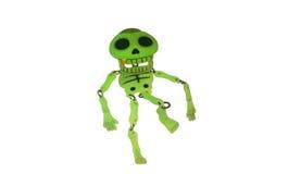 Glowing skeleton Royalty Free Stock Photo