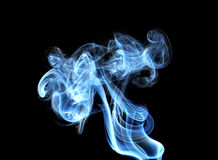 Glowing of smoke Royalty Free Stock Photography