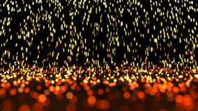 Glowing Sparks Abstract stock video footage