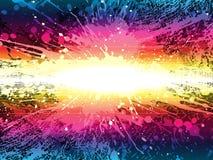 Glowing splash, vector Stock Photos