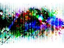Glowing splash, vector Stock Images