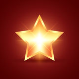 Glowing Star Royalty Free Stock Photos