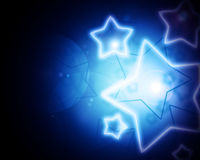 Glowing stars Stock Photography