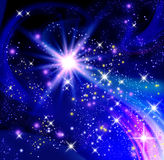 Glowing stars Royalty Free Stock Image