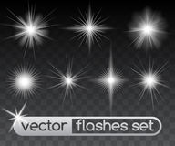 Glowing stars Stock Photo