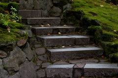 Glowing steps Stock Images