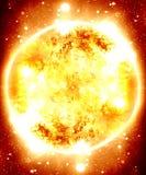 Glowing sun Stock Photo