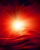 Glowing sunset Stock Photography