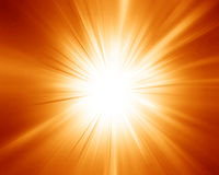 Glowing sunset Royalty Free Stock Photography
