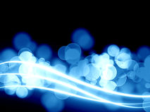 Glowing swirls Royalty Free Stock Photos