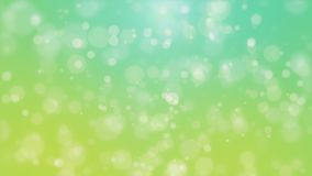 Glowing teal green yellow background