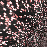 Glowing techno background Stock Images