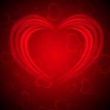 Glowing Valentine bachround Stock Photo