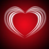 Glowing Valentine bachround Royalty Free Stock Photos