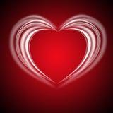 Glowing Valentine bachround Royalty Free Stock Photos