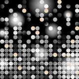 Glowing vector dots. Mosaic made from glowing dots royalty free illustration