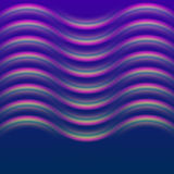 Glowing wave effect dark blue background Stock Photos