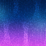 Glowing Waves Of Lines Background. Magic Illusion Background Of Glowing Waves Of Lines vector illustration