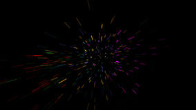 Glowing wavy lines Stock Photo