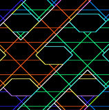 Glowing wires background Stock Photo