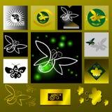 Glowworm,golden light Royalty Free Stock Photos