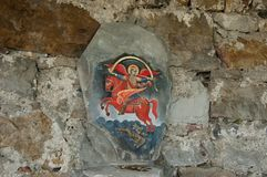 Glozhene Kloster St George - Jahrhundert 13, Stockbilder