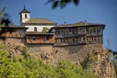 Glozhene Monastery St. George - 13 century, Bulgaria Royalty Free Stock Photography