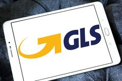 Gls, general Logistics Systems logo Stock Photography