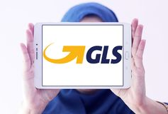 Gls, general Logistics Systems logo Royalty Free Stock Image