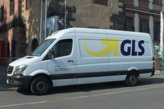 GLS Mercedes Stock Photo