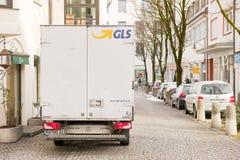 GLS truck Royalty Free Stock Photos